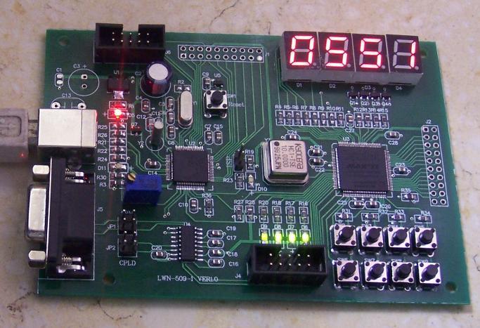 epm570 lpc2148开发板