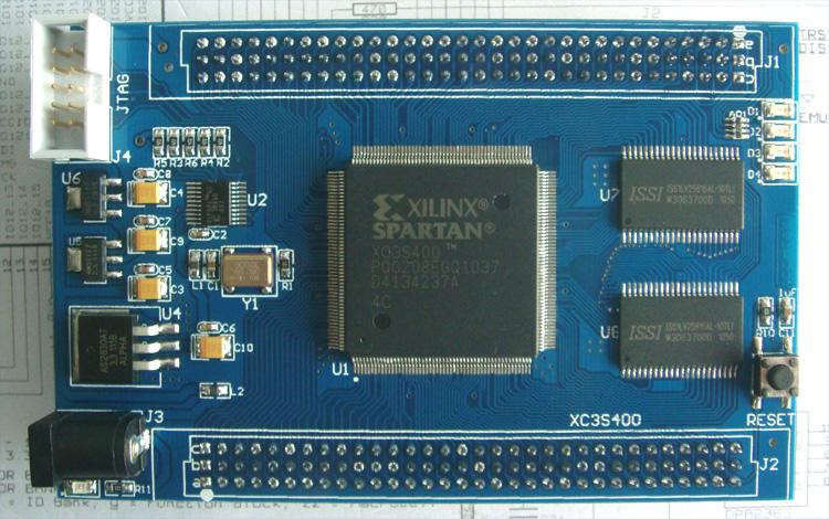 集成电路(ic)-eda-d xc3c400 xilinx 开发板 启点时代