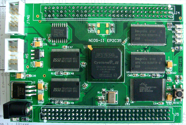 nios ii ep2c35百万门级fpga开发板